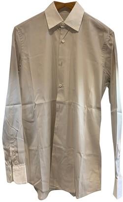 Prada Beige Cotton Shirts