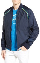 Original Penguin Men's Taped Seam Mesh Bomber Jacket