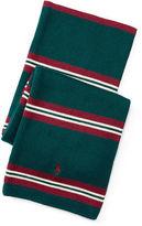 Ralph Lauren Striped Combed Cotton Scarf