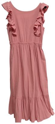 BA&SH Spring Summer 2020 Pink Cotton Dresses