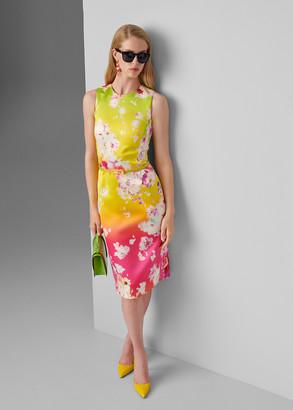 Ralph Lauren Tuscon Floral Belted Dress