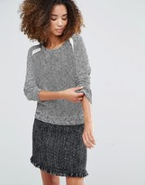 Shae Marsielle Rib Knit Sweater