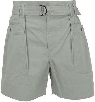 Etoile Isabel Marant High Waisted Belted Shorts
