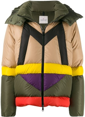 Moncler Maritsa M logo puffer jacket