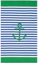 Pottery Barn Kids Anchor Stripe Adult Beach Towel