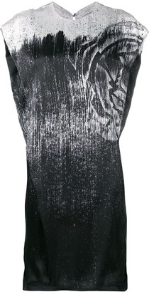 Poiret Metallic Print Dress