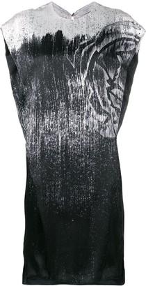 Poiret metallic print dress