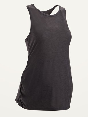 Old Navy Maternity Breathe ON Tie-Back Performance Tank Top