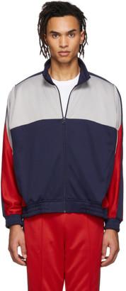 Nike Blue and Grey Martine Rose Edition NRG Track Jacket