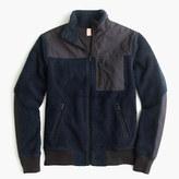 J.Crew Grizzly fleece full-zip jacket