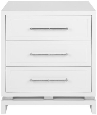 Cafe Lighting Capize Bedside Chest White