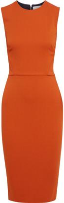 Victoria Beckham Stretch-crepe Midi Dress