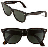 Ray-Ban Men's 'Classic Wayfarer' 54Mm Sunglasses - Black/ Green
