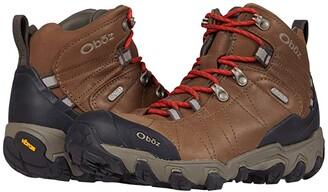 Oboz Bridger Premium Mid B-DRY (Dark Oak) Women's Shoes