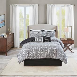 Madison Home USA 7-piece Angelica Jacquard Comforter Set