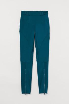 H&M Zip-hem leggings