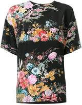 No.21 floral printed blouse
