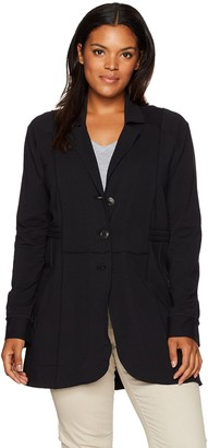 Nic+Zoe Women's Plus Size Seamed Riding Jacket