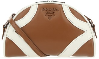 Prada Logo Bowling Bag