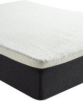 "Sleep Trends Ladan Queen 12"" Cool Gel Memory Foam Plush Tight Top Mattress, Quick Ship, Mattress in a Box"