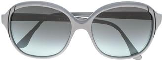 Pierre Cardin Pre-Owned 1970's Oversized Gradient Sunglasses
