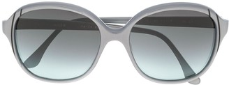 Pierre Cardin Pre Owned 1970's Oversized Gradient Sunglasses