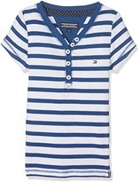 Tommy Hilfiger Girl's Ame Henley S/S T-Shirt