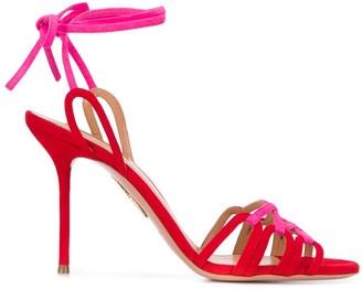 Aquazzura Azur ankle straps sandals
