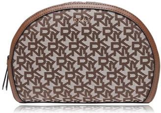 DKNY Jacquard Logo Wash Bag