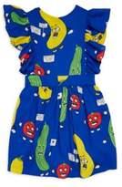 Mini Rodini Baby's, Toddler's, Little Girl's & Girl's Veggie Ruffle Dress