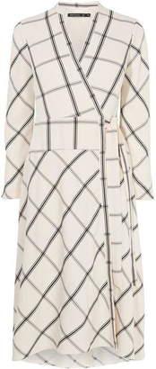 Karen Millen Checked Midi Dress