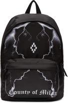 Marcelo Burlon County of Milan Black Telgo Backpack