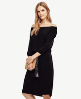 Ann Taylor Off The Shoulder Dress