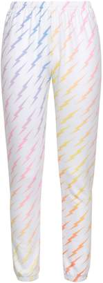 Wildfox Couture Printed Fleece Track Pants