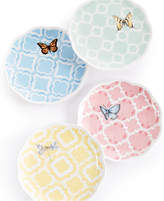 Lenox Butterfly Meadow Trellis Set of 4 Dessert Plates