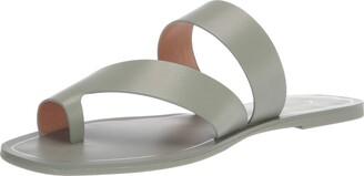 Kensie womens flat sandal with toe loop