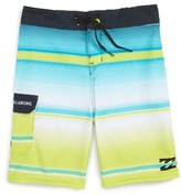 Billabong Toddler Boy's All Day Stripe X Performance Board Shorts