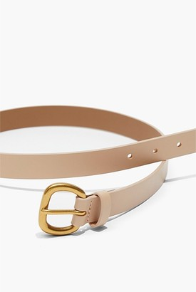 Country Road Skinny Solid Buckle Belt