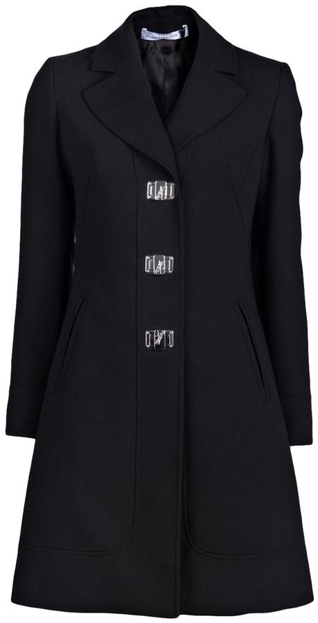 Versace medusa clasp coat