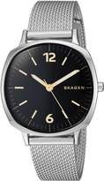 Skagen Women's 'Rungsted' Quartz Stainless Steel Casual Watch, Color:-Toned (Model: SKW2628)