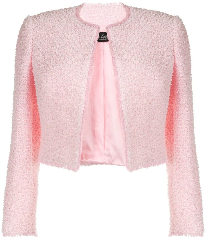 Isabel Sanchis Structured Tweed Jacket