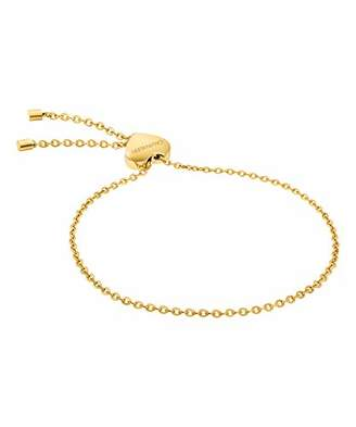 Calvin Klein Gold Plated Hand Chain Bracelet - KJ5QJB100100
