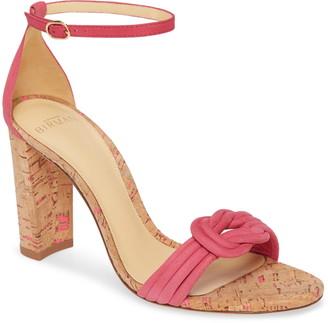 Alexandre Birman Chiara Cork Ankle Strap Sandal