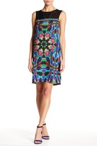 Desigual Beaded Shift Dress With Necklace