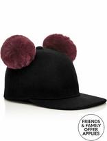 Karl Lagerfeld K/cat Pom Pom Cap