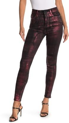 Fidelity Luna Metallic Design Skinny Jeans