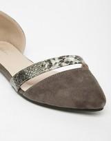 Park Lane Two Part Flat Shoes