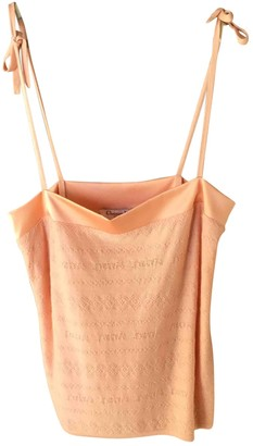 Christian Dior Orange Wool Tops