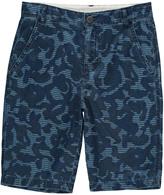 Stella McCartney Lucas Camouflage Chambray Bermuda Shorts