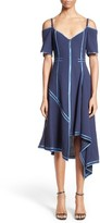 Jason Wu Women's Stretch Wool Mesh Day Dress With Decorative Binding